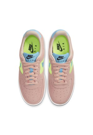 AIR FORCE 1 - Sneakersy niskie - washed coral/ghost green/black/oracle aqua