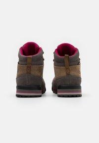 CMP - HEKA SHOES WP - Hiking shoes - biscotto/tortora - 2