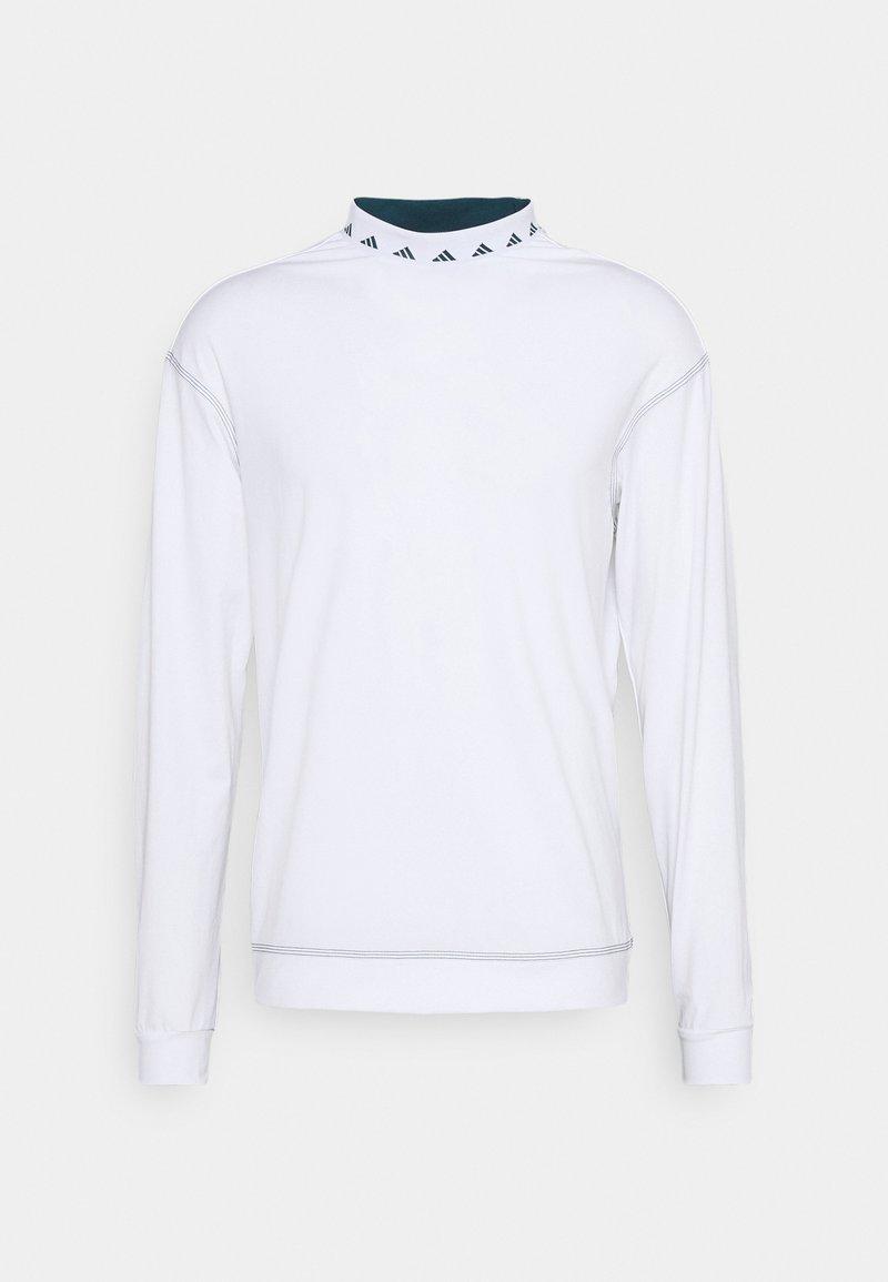 adidas Golf - EQUIPMENT WIND CREW - Top sdlouhým rukávem - white