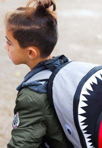 SHARK - Rucksack - grau