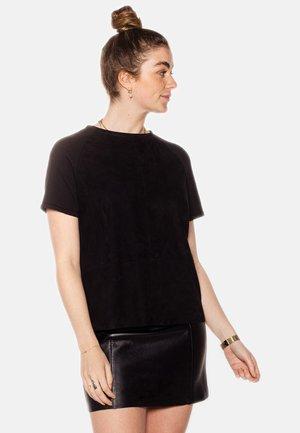 ELLIS  - T-shirt basic - black