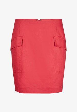 UTILITY - Mini skirt - red