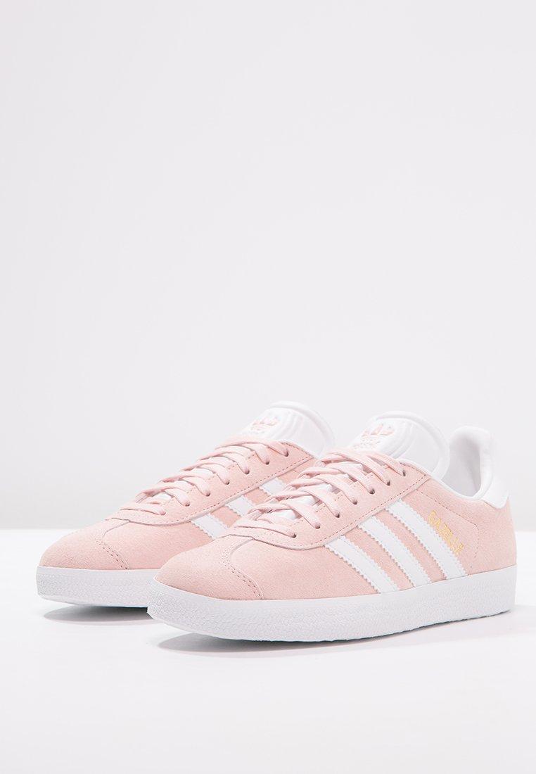 gazelle - sneaker low - vapour pink/white/gold metallic