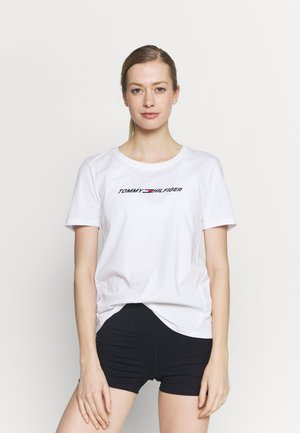 REGULAR GRAPHIC TEE - T-Shirt print - white