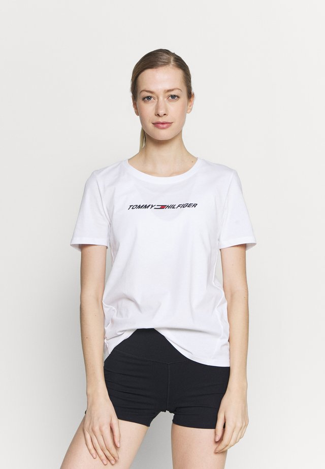 REGULAR GRAPHIC TEE - T-shirt imprimé - white