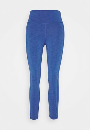 SUPER SCULPT 7/8 YOGA LEGGINGS - Punčochy - blue quartz marl