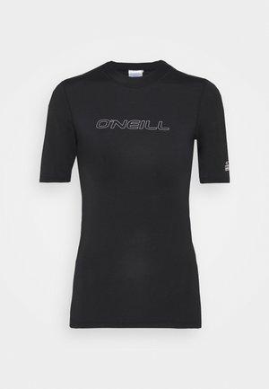 BIDART SKIN  - Camiseta de lycra/neopreno - black out