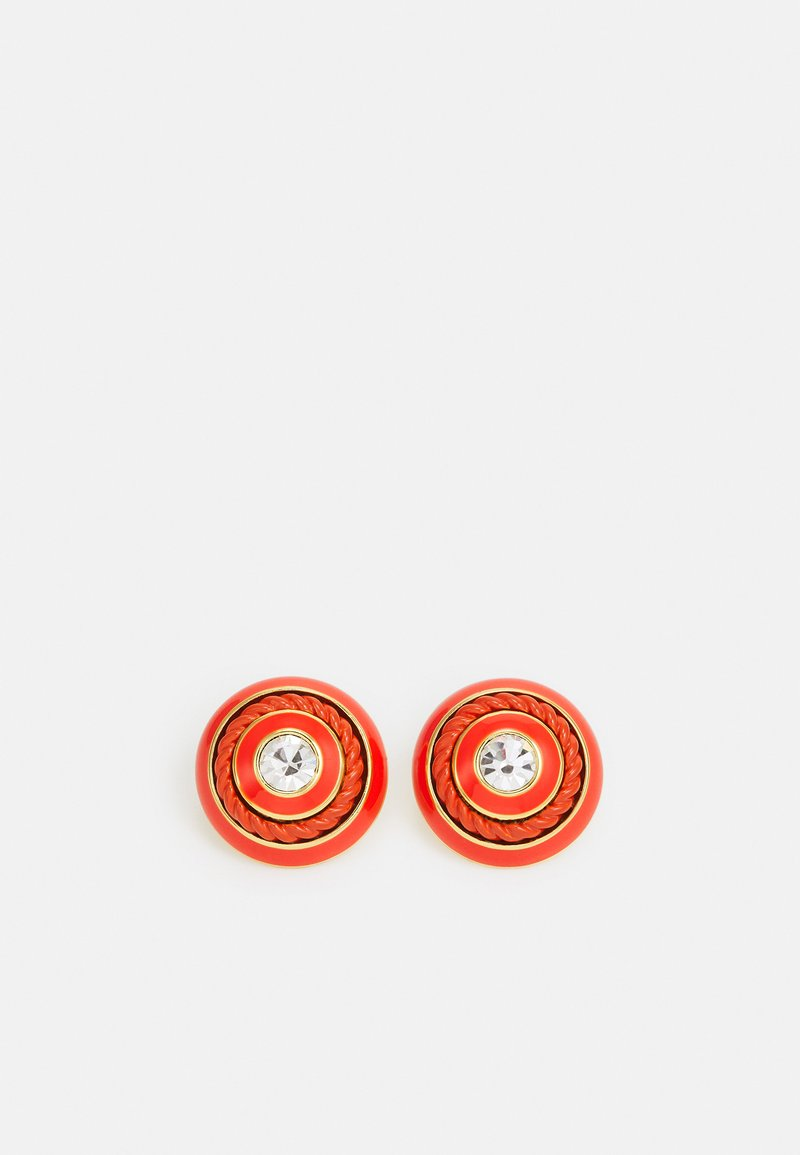kate spade new york - MIXED MEDIA STUDS - Earrings - red