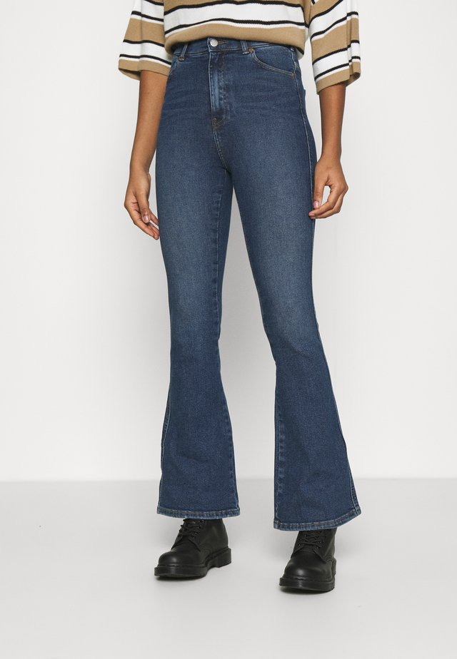 MOXY - Flared jeans - westcoast dark blue