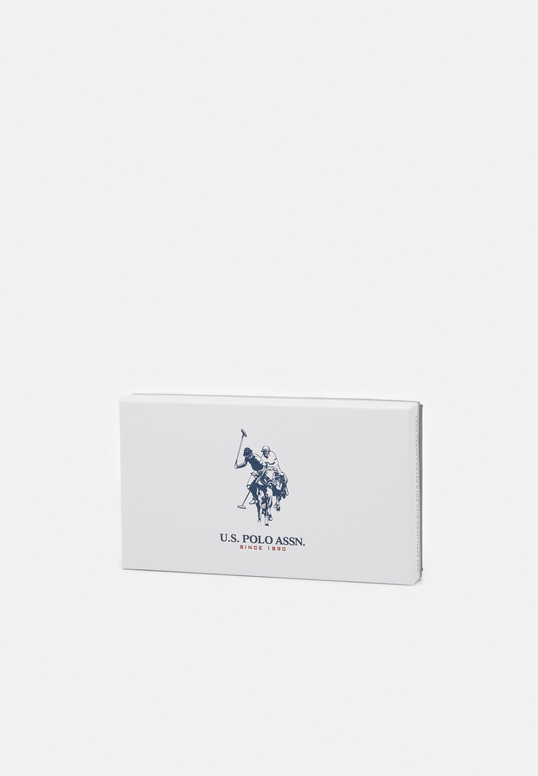 U.S. Polo Assn. JONES ZIP WALLET - Lommebok - black/svart xftGfmkeBYGLVbJ