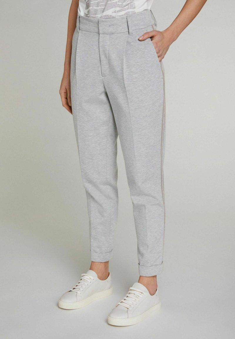 Oui - Trousers - light grey