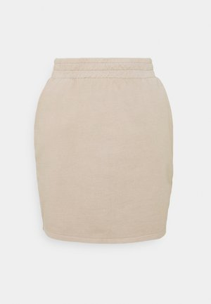 WATCH OUT SKIRT - Pencil skirt - beige