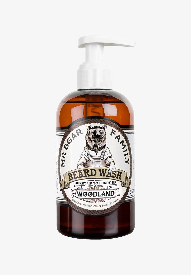 Mr Bear Family - BEARD WASH - Beard shampoo - woodland