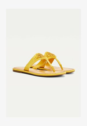 ESSENTIAL  - T-bar sandals - tuscan yellow