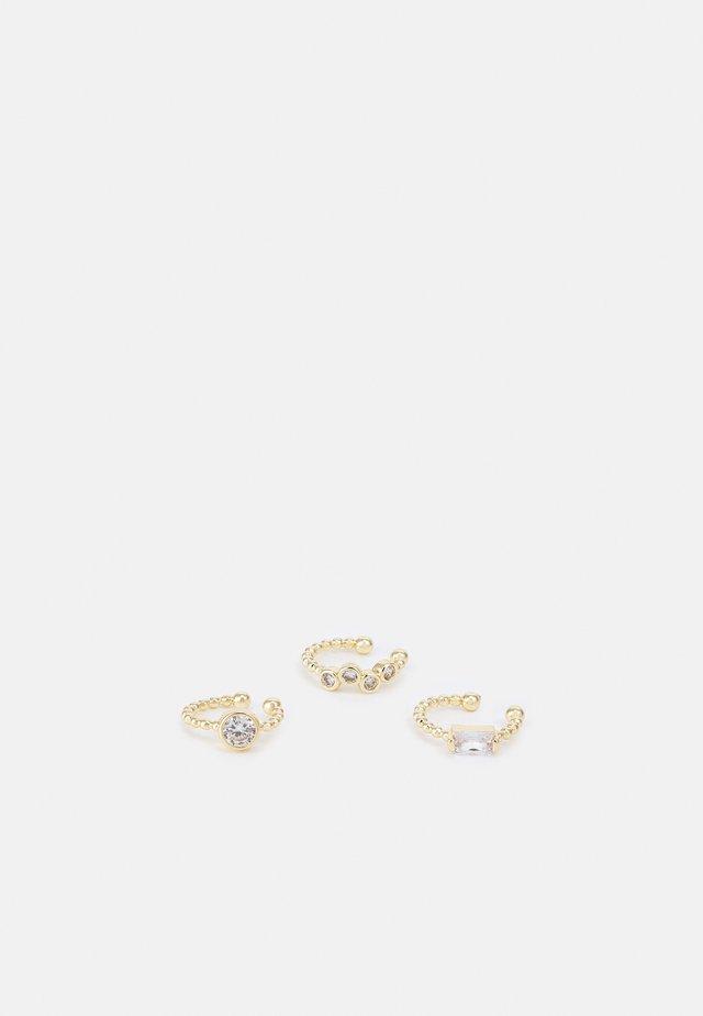 EARRING 3 PACK - Orecchini - gold-coloured