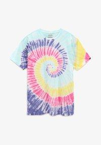 Vans - MN DROP V SPIRAL TIE DYE SS - Print T-shirt - rainbow (spectrum)tie dye - 2