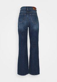 ONLY - ONLMILOH LIFE WIDE  - Jeans bootcut - dark-blue denim - 1