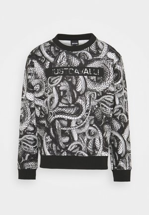 FELPA - Sweatshirt - black/white