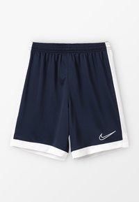 Nike Performance - DRY ACADEMY  - Sports shorts - obsidian/white/white - 0