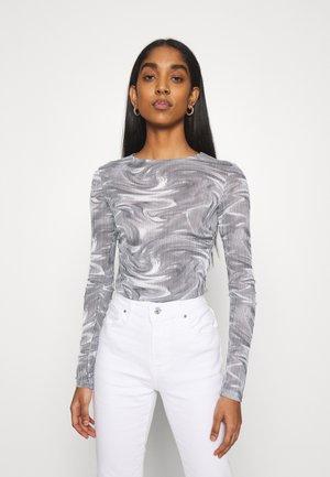 BLUR - Long sleeved top - mono