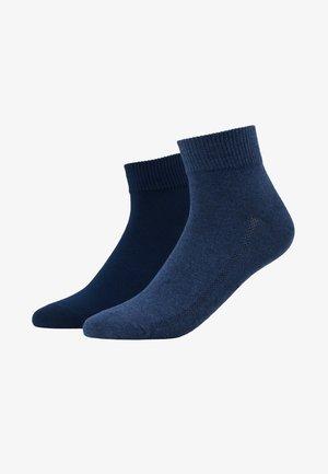 MID CUT 2 PACK - Chaussettes - denim blue