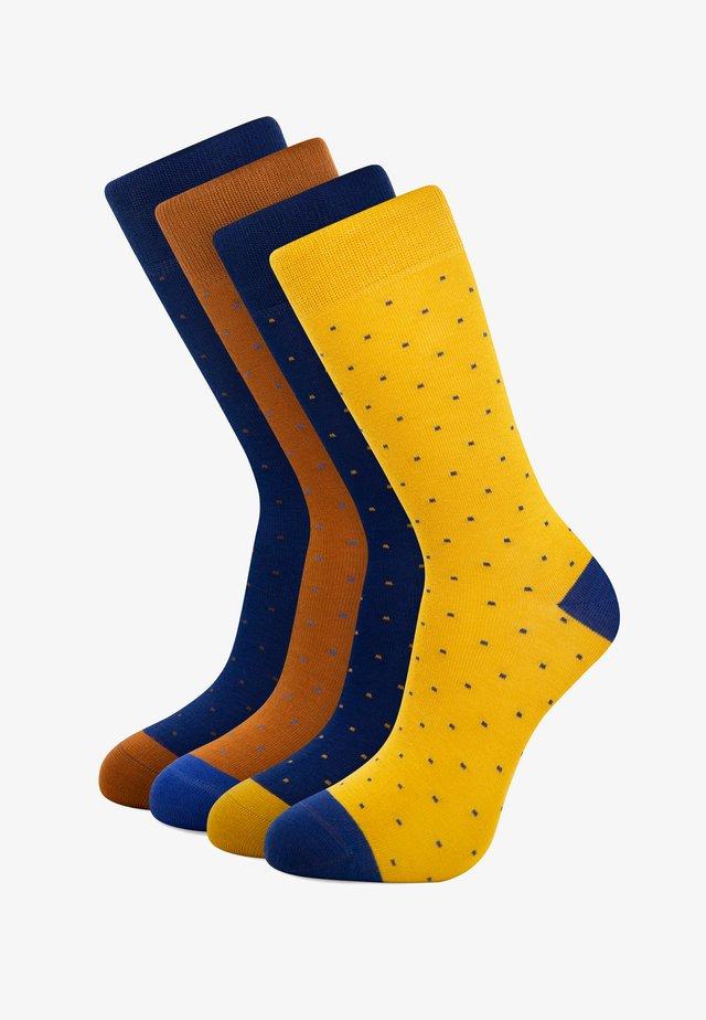 4 PACK - Socks - blue
