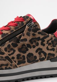 Gabor - WIDE FIT - Trainers - savanne/rosso - 2