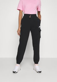Nike Sportswear - PANT - Trainingsbroek - black/black/white - 0