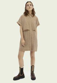 Scotch & Soda - Shirt dress - oat - 1