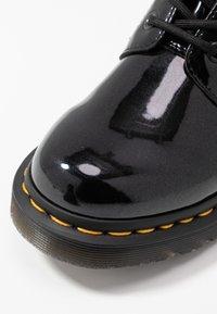 Dr. Martens - 1460 VEGAN 8 EYE BOOT - Veterboots - black/opaline - 2