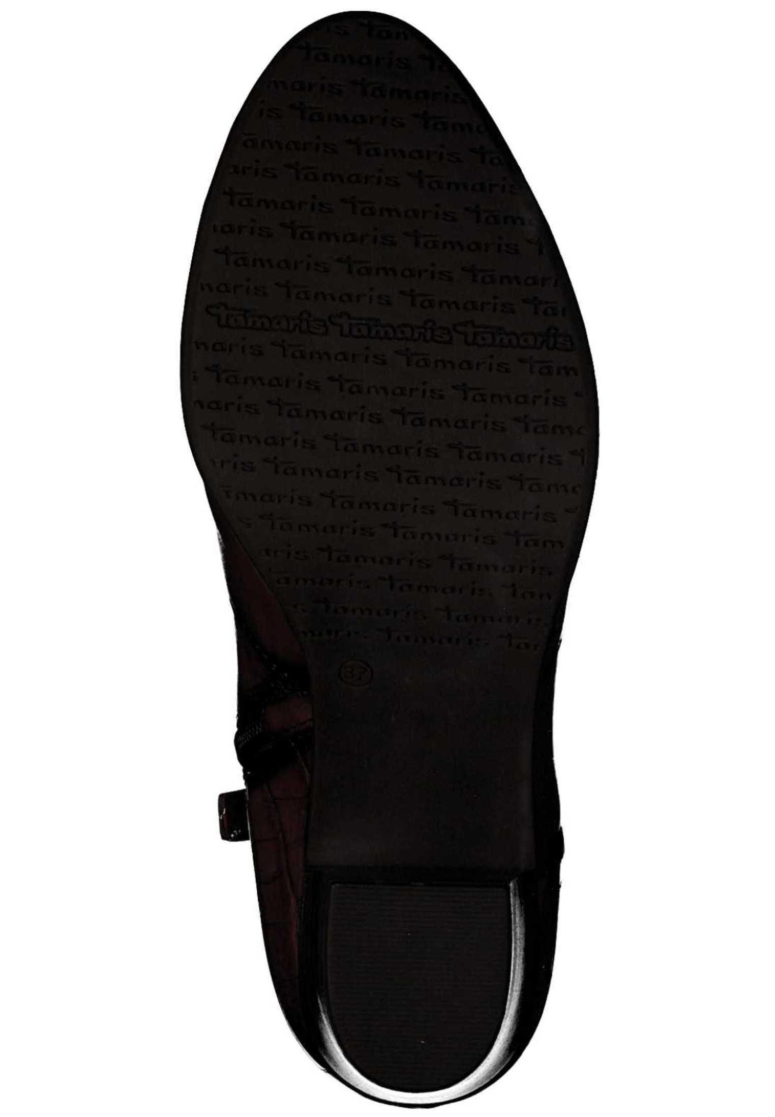 Boots à talons scarletcroco 585