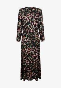 Laura Kent - KLEID - Maxi dress - schwarz tannengrün - 3