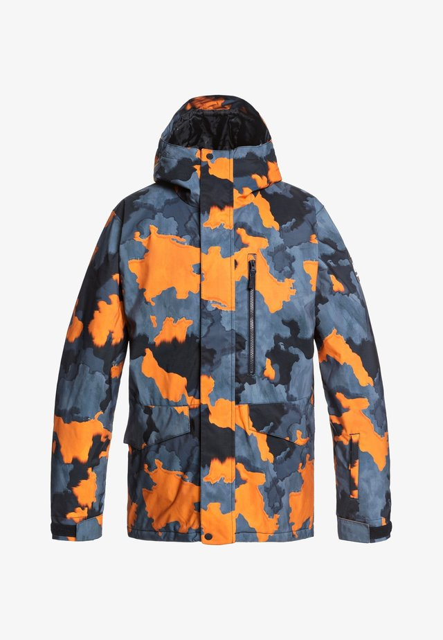 MISSION - Snowboard jacket - flame bustin big camo