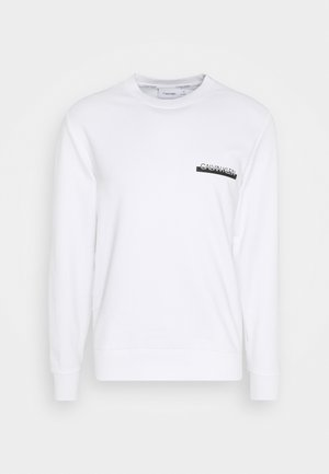 CHEST BOX LOGO - Sweatshirt - white