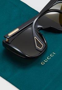 Gucci - Sunglasses - black/green - 5