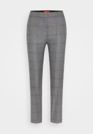 GIUSTO - Trousers - anthracite pattern