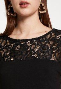 Anna Field Tall - Print T-shirt - black - 4