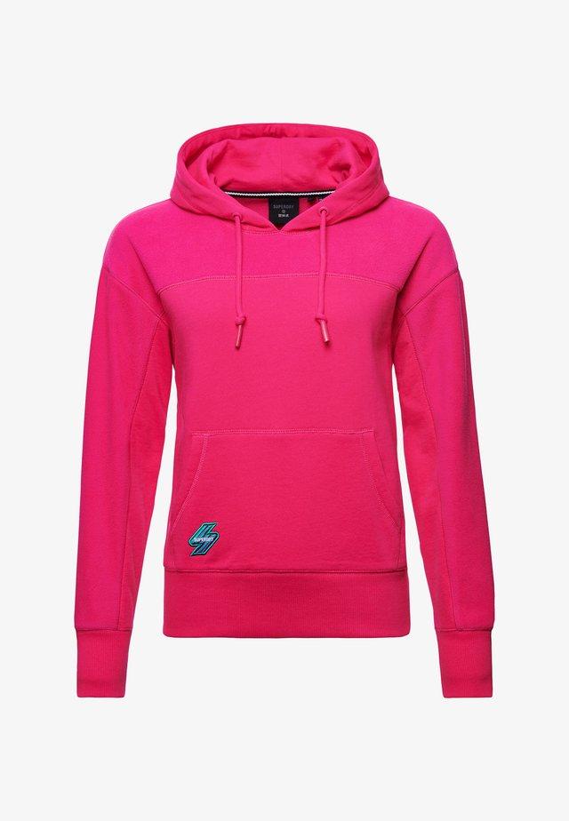 Hoodie - hot pink
