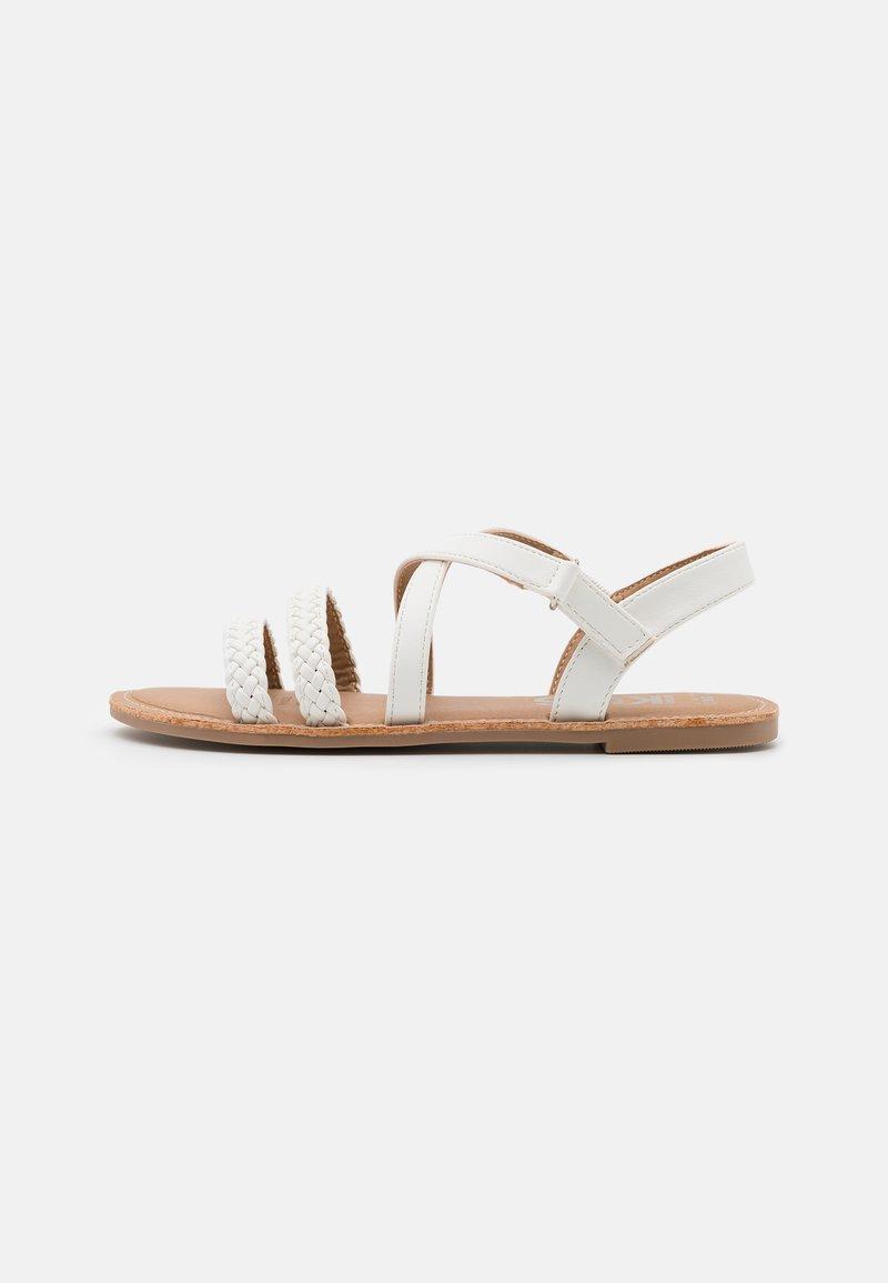 Cotton On - STRAPPY BRAID - Sandals - white