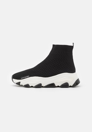 LETTIE  - High-top trainers - black/white