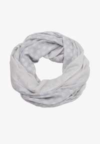 s.Oliver - ALLOVER-PRINT - Snood - light grey placed print - 3