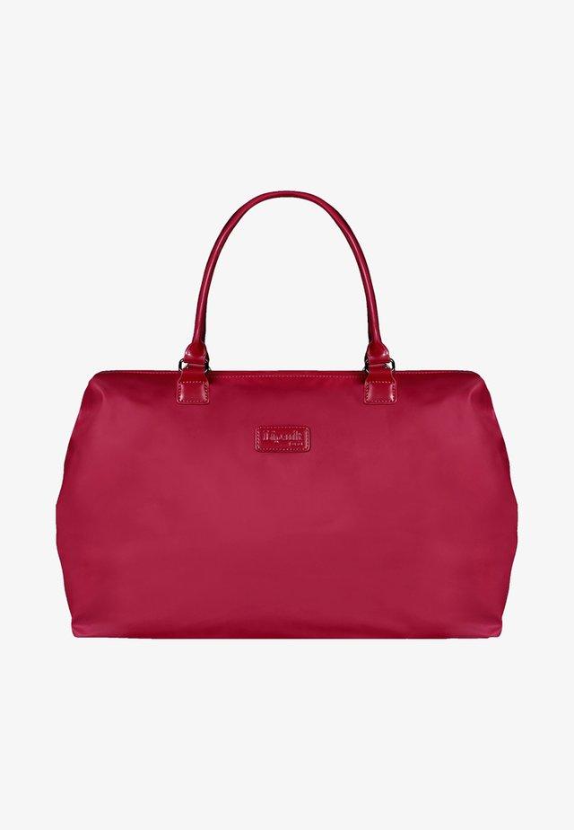 Weekend bag - amaranth red