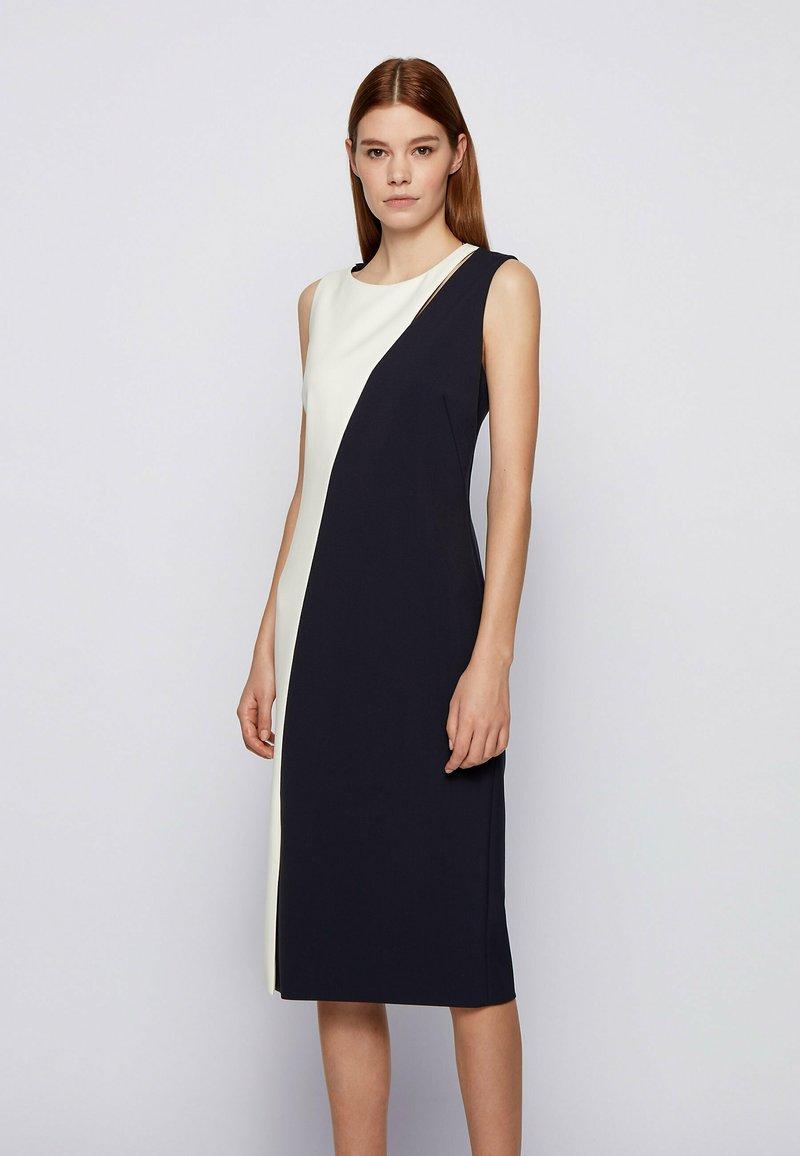 BOSS - Shift dress - open blue