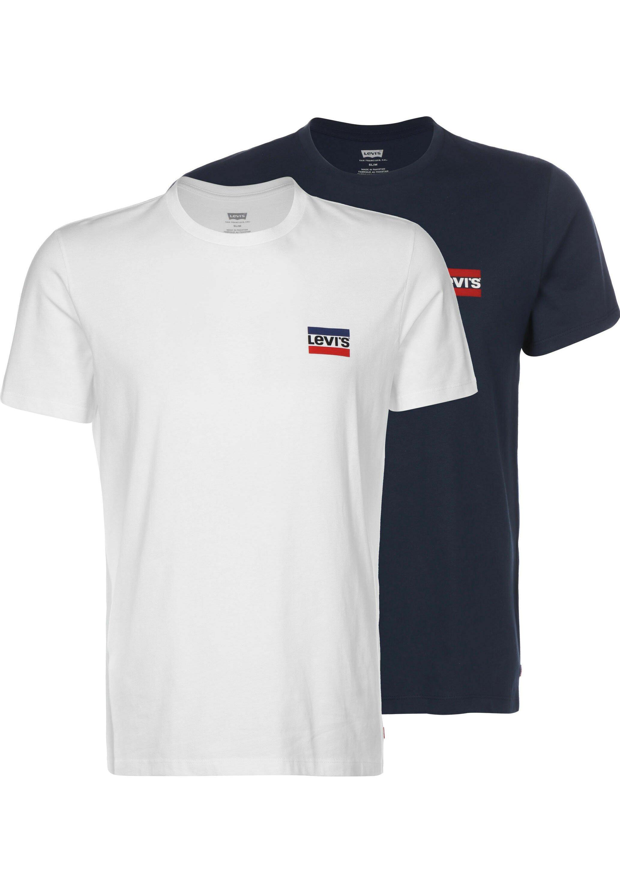Homme CREWNECK GRAPHIC 2 PACK - T-shirt imprimé