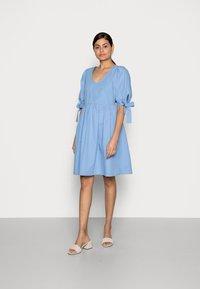 Love Copenhagen - WIGGA DRESS - Day dress - bel air blue - 0