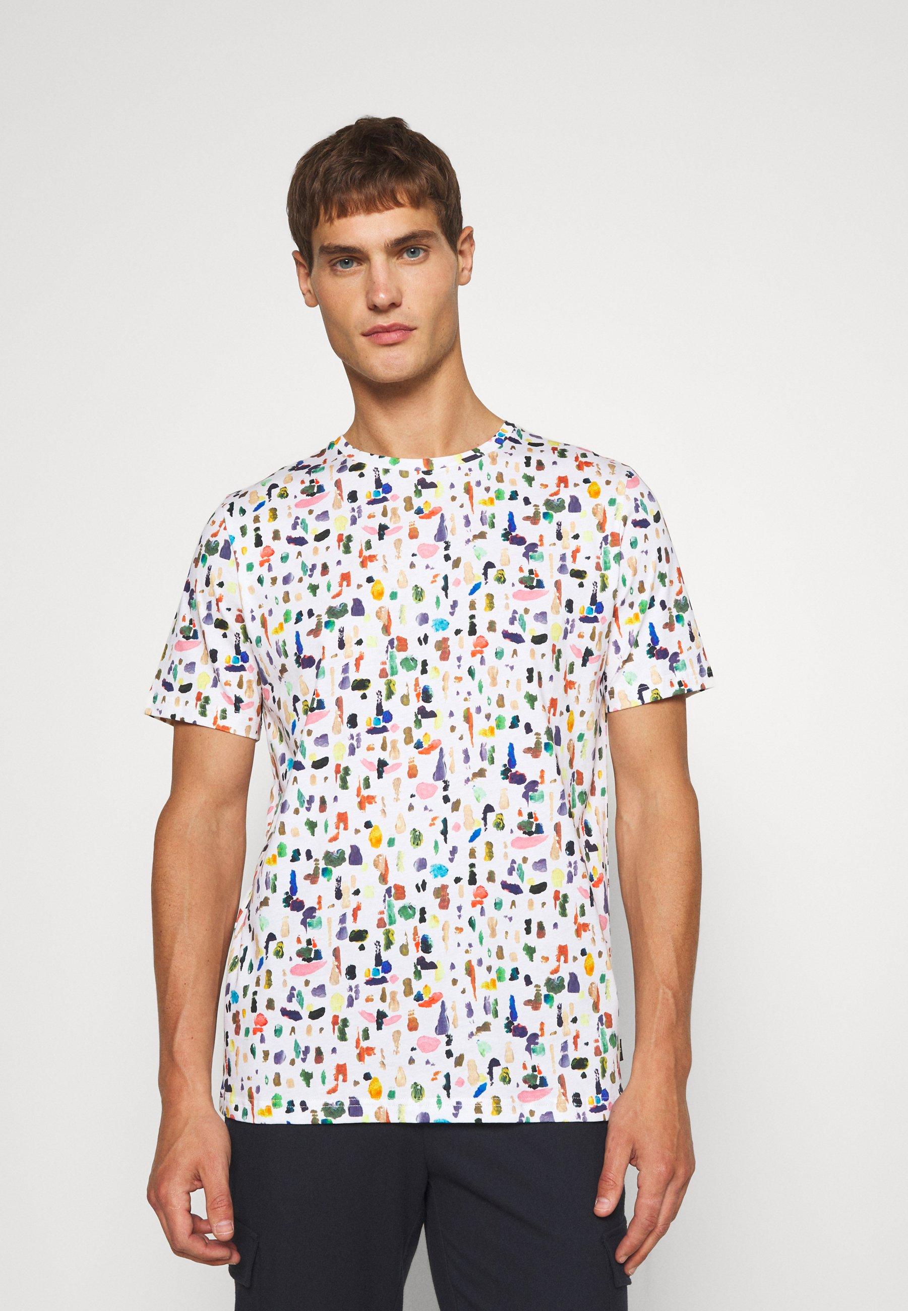 Homme PAINTED MARKS - T-shirt imprimé