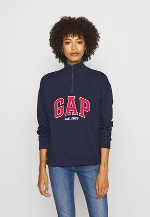 HALF ZIP - Sweatshirt - navy uniform