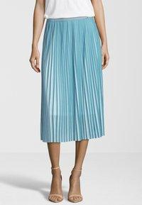 Cinque - JERSEY ROCK CISU - A-line skirt - petrol - 0