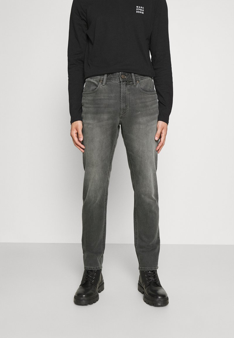 Marc O'Polo DENIM - POCKET REGULAR WAIST - Jeans Slim Fit - mid grey