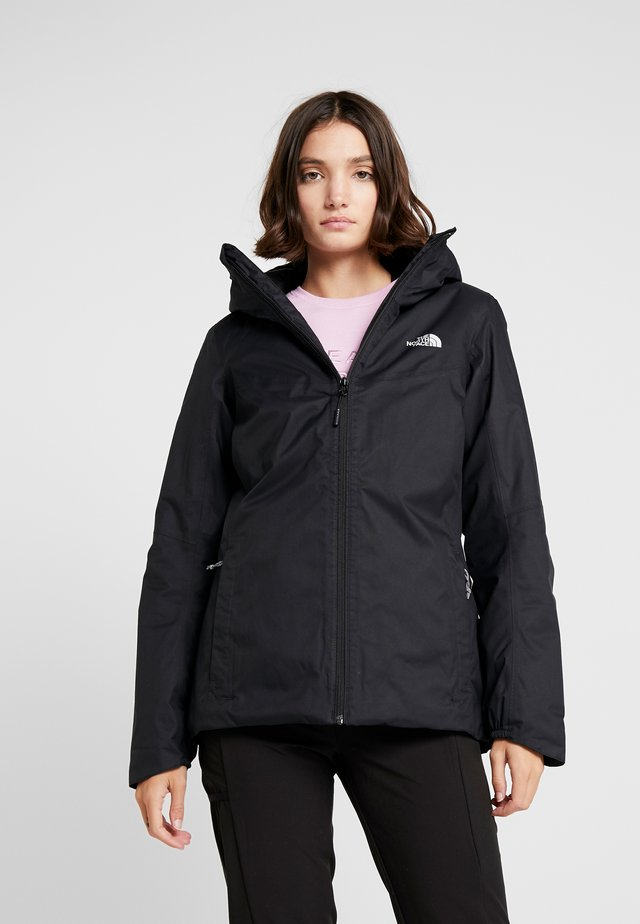 QUEST INSULATED JACKET - Giacca outdoor - black